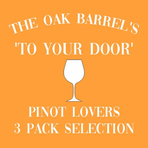 Oak Barrel's 'To Your Door' Pinot Lovers 3 Pack Selection