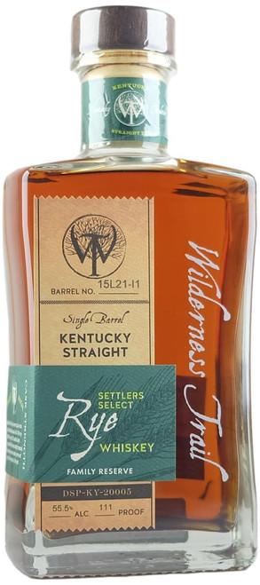 Wilderness Trail SIngle Barrel Kentucky Straight Rye Whiskey