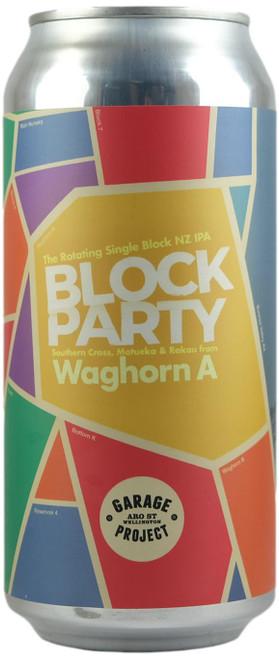 Garage Project Block Party Waghorn A - Single Block NZ IPA