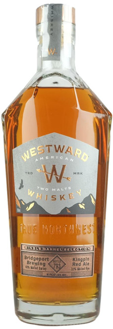 Westward x Bridgeport Single Barrel American Two Malts Whiskey
