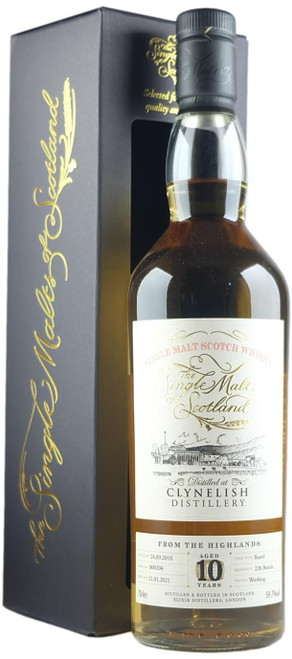 Single Malts Of Scotland Clynelish 10-Year-Old Whisky