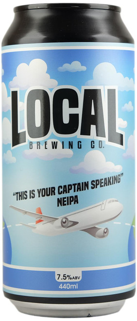 Local Brewing 'This Is Your Captain Seaking' NEIPA
