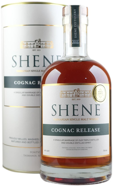 Shene Estate Cognac Release Tasmanian Single Malt Whisky