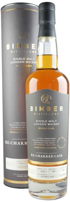 Bimber Re-Charred Cask #144 Single Malt London Whisky