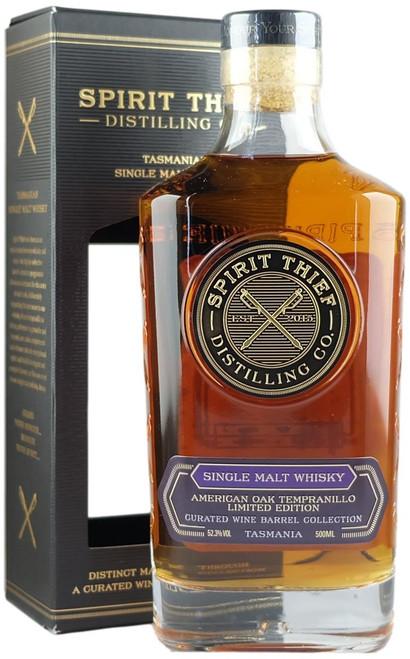 Spirit Thief American Oak Tempranillo Cask Batch 1 Tasmanian Single Malt Whisky