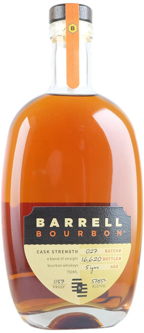 Barrell Bourbon Batch 27 Whiskey