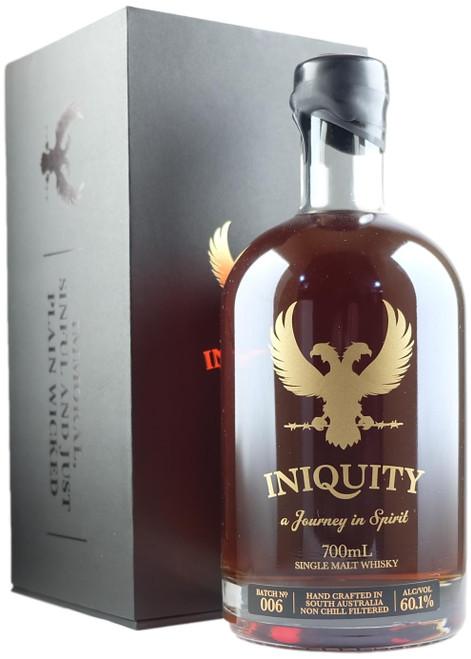 Iniquity Gold Label Batch 6 Australian Single Malt Whisky