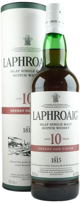 Laphroaig 10-Year-Old Sherry Oak Finish Islay Single Malt Scotch Whisky