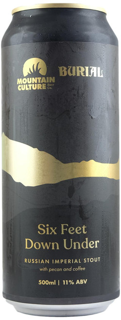 Mountain Culture / Burial Six Feet Under Russian Imperial Stout