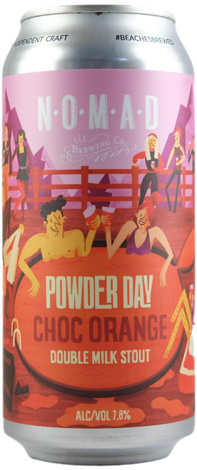Nomad Powder Day Choc Orange Double Milk Stout