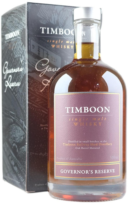 Timboon Governor's Reserve July 2021 Release Australian Single Malt Whisky