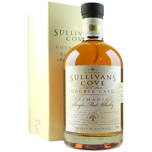 Sullivans Cove Old & Rare Double Cask DCOR01 Exclusive To The Oak Barrel