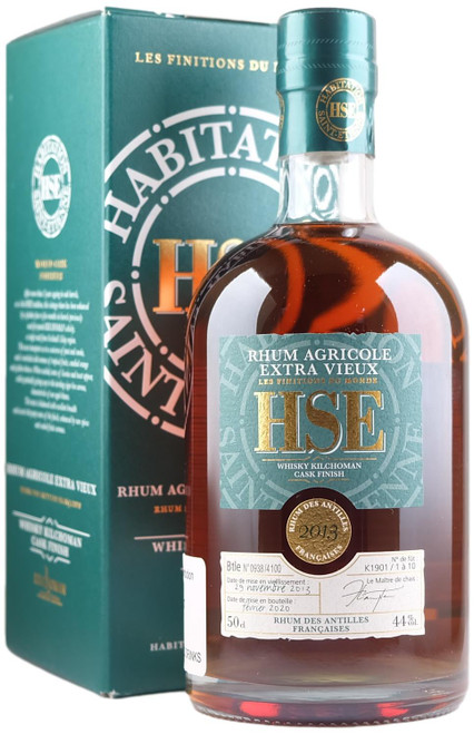 Habitation Saint-Etienne Kilchoman Whisky Cask Finish Agricole Rhum
