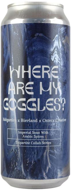 Maltgarden Where Are My Goggles Imperial Stout with Arabic Spices