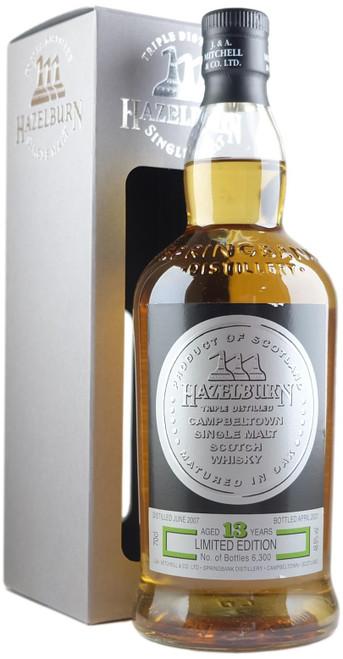 Hazelburn 2007 13-Year-Old Oloroso 2021 Release Single Malt Scotch Whisky