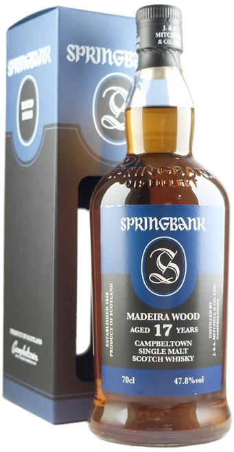 Springbank 17-Year-Old Madeira Wood Single Malt Scotch Whisky