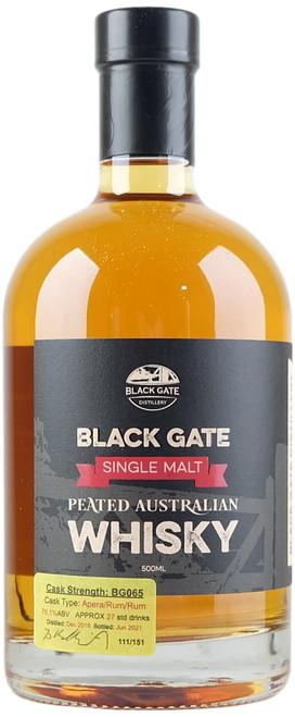 Black Gate BG065 Peated Australian Single Malt Whisky