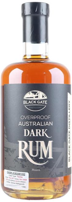 Black Gate BG081/82 Overproof Tawny Cask Rum