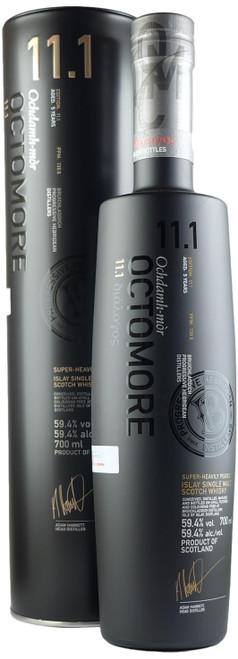 Octomore 11.1 Super Heavily Peated Single Malt Scotch Whisky