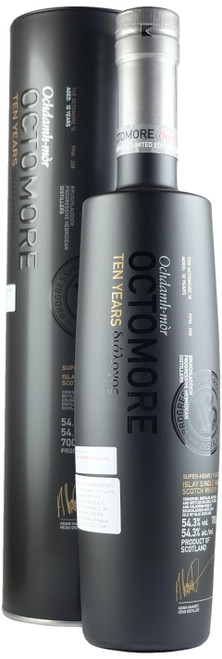 Octomore Series 11 '10 Years' Super-Heavily Peated Single Malt Scotch Whisky