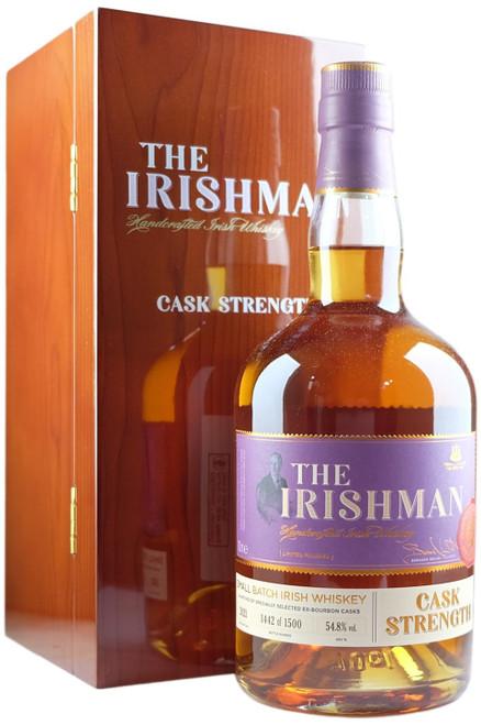 The Irishman Cask Strength 2021 Release Irish Whiskey