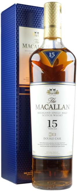 Macallan 15-Year-Old Double Cask Single Malt Scotch Whisky