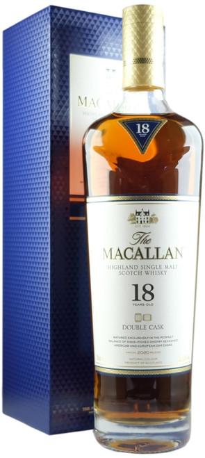 Macallan 18-Year-Old Double Cask 2020 Release Single Malt Scotch Whisky