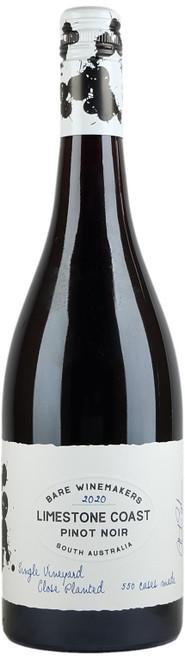 Bare Winemakers Limestone Coast Pinot Noir 2020