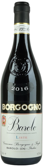 Borgogno Barolo Liste 2016