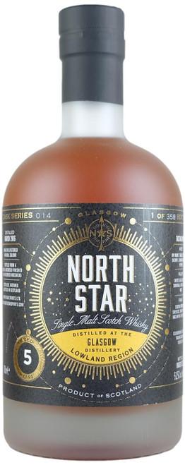 North Star Glasgow 5-Year-Old Single Malt Scotch Whisky