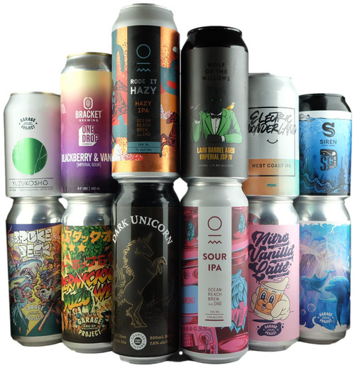 'To Your Door'  Ultimate Limited Craft Beer 12-Pack