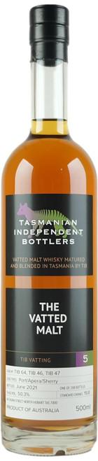 Tasmanian Independent Bottlers The Vatted Malt #5 Whisky