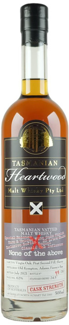 Heartwood None Of The Above Tasmanian Vatted Malt Whisky