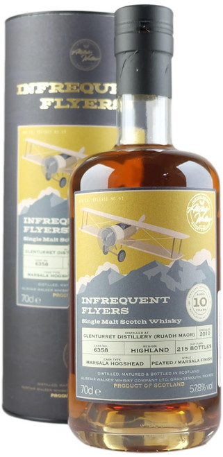 Infrequent Flyers Glenturret 'Ruadh Maor' 2010 10-Year-Old Single Malt Scotch Whisky
