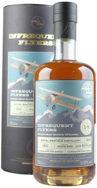 Infrequent Flyers Royal Brackla 2006 14-Year-Old Single Malt Scotch Whisky