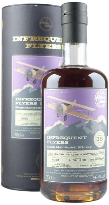 Infrequent Flyers Loch Lomond 'Croftengea' 2005 16-Year-Old Single Malt Whisky