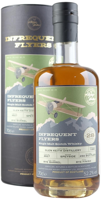 Infrequent Flyers Glen Keith 1993 28-Year-Old Single Malt Scotch Whisky