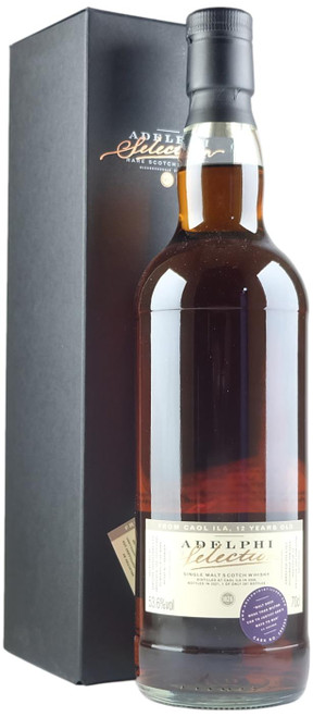 Adelphi Caol Ila 2008 12-Year-Old Single Malt Scotch Whisky