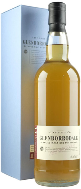 Adelphi Glenborrodale Batch 8 11-Year-Old Blended Malt Scotch Whisky