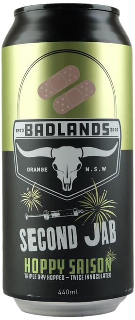 Badlands Second Jab Tripple Dry Hopped Saison