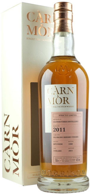 Carn Mor Glenrothes 2011 9-Year-Old Single Malt Scotch Whisky