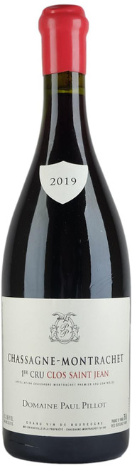 Domaine Paul Pillot Chassagne-Montrachet 1er Cru Clos Saint-Jean Rouge 2019