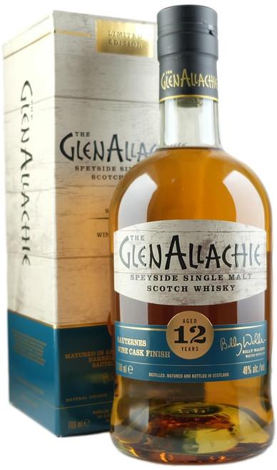 GlenAllachie 12-Year-Old Sauternes Cask Finish Single Malt Scotch Whisky