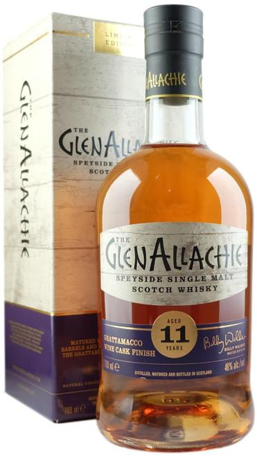 GlenAllachie 11-Year-Old Grattamacco Cask Finish Single Malt Scotch Whisky