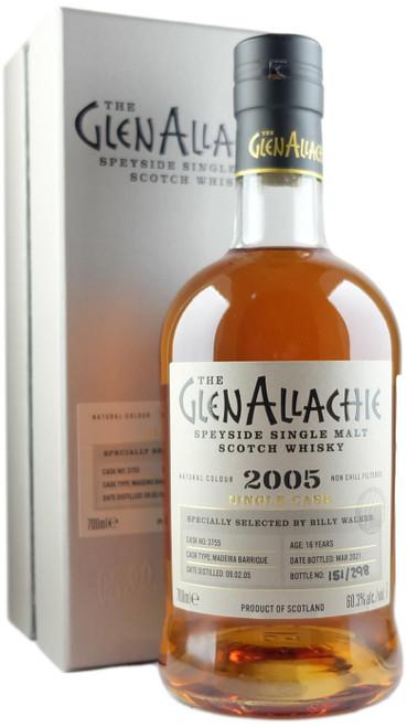 GlenAllachie 2005 16-Year-Old Single Cask #3755 Single Malt Scotch Whisky