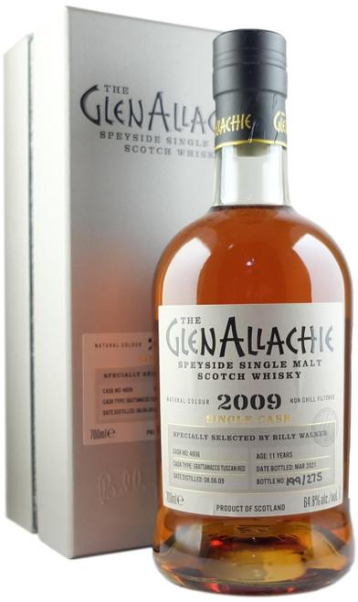 GlenAllachie 2009 11-Year-Old Single Cask #4806 Single Malt Scotch Whisky