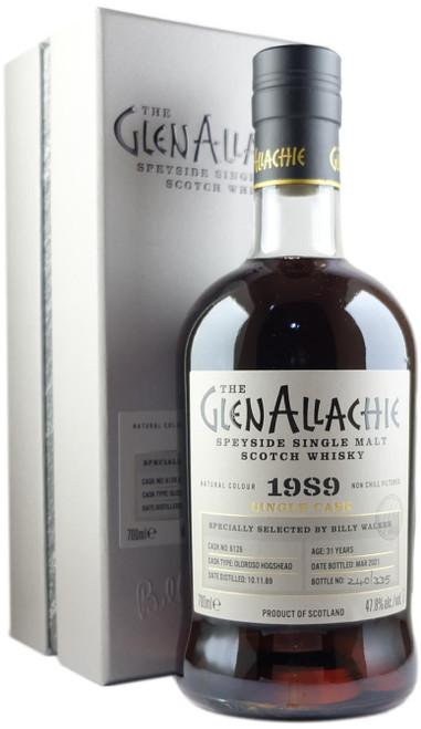 GlenAllachie 1989 31-Year-Old Single Cask #6126 Single Malt Scotch Whisky