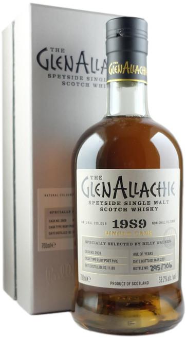 GlenAllachie 1989 31-Year-Old Single Cask #2909 Single Malt Scotch Whisky