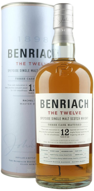 Benriach The Twelve Single Malt Scotch Whisky