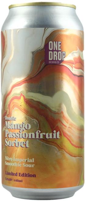 One Drop Double Mango Passionfruit Sorbet Nitro Imperial Smoothie Sour